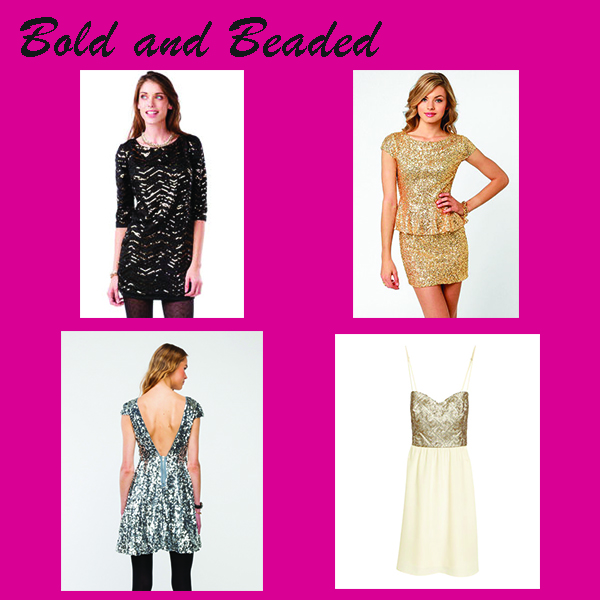 Bold and Beaded NYE Dresses