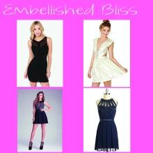 Embellished Bliss NYE Dress