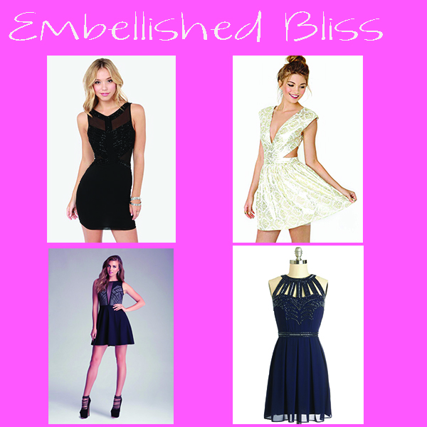Embellished Bliss NYE Dress