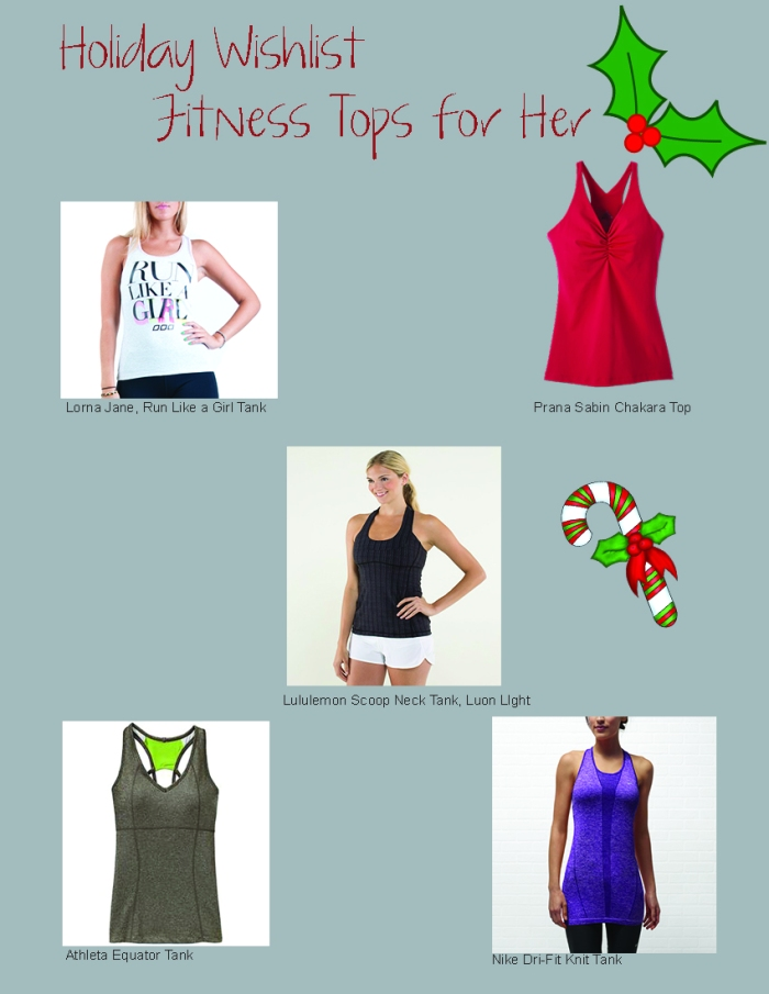 Holiday Fitness Tops