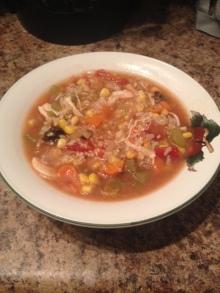 Crockpot Chicken & Quinoa Soup