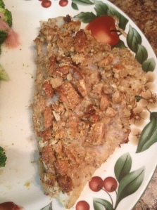 Pecan Crusted Cod