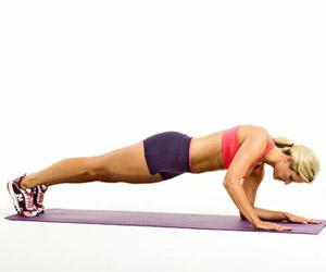 Plank Walk-Ups