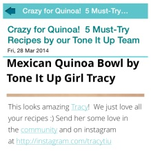 Mexican Quinoa Bowl