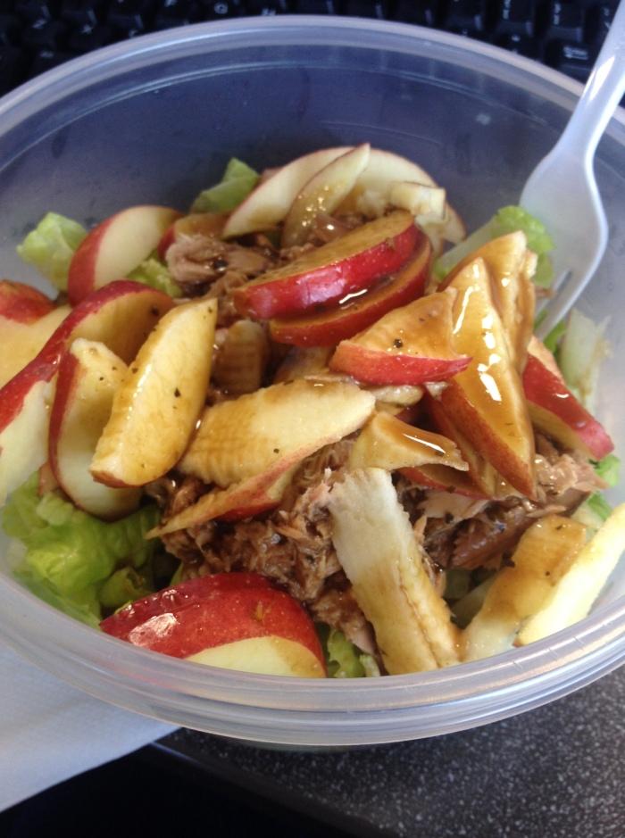 Shareworthy Tuna Crunch Salad