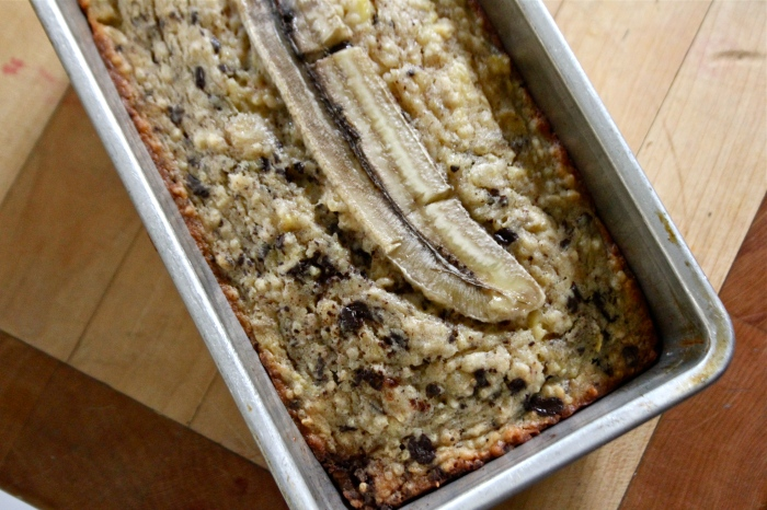roasted banana loaf